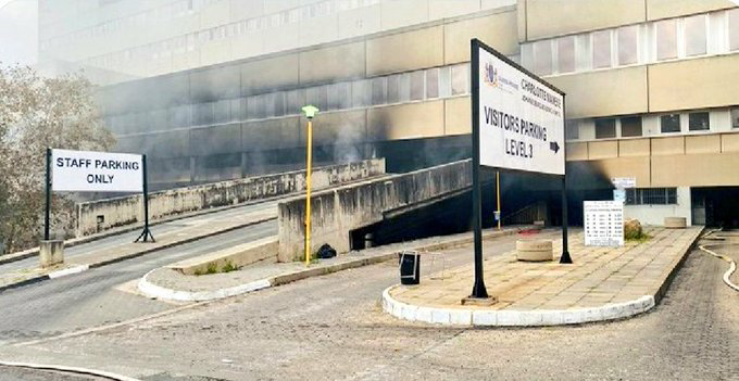 Some parts of Charlotte Maxeke Academic Hospital to reopen in May