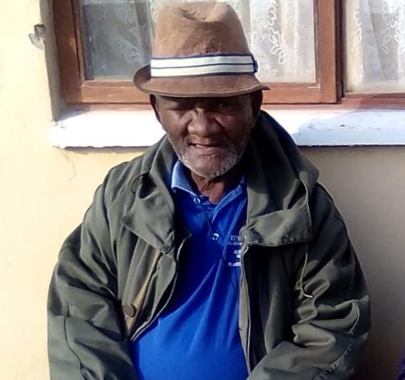 Please help find missing Elias Mxaliso (82)